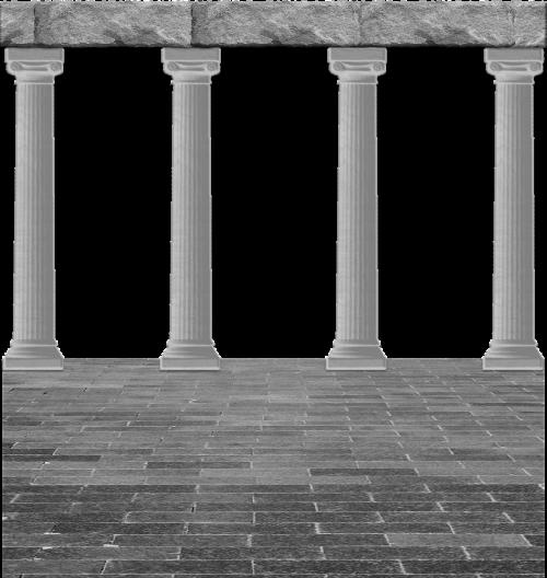 cutout background architecture