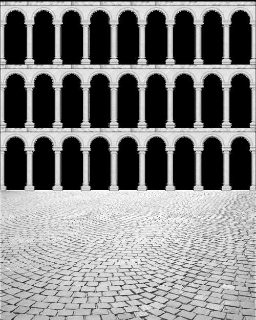 cutout frame arches