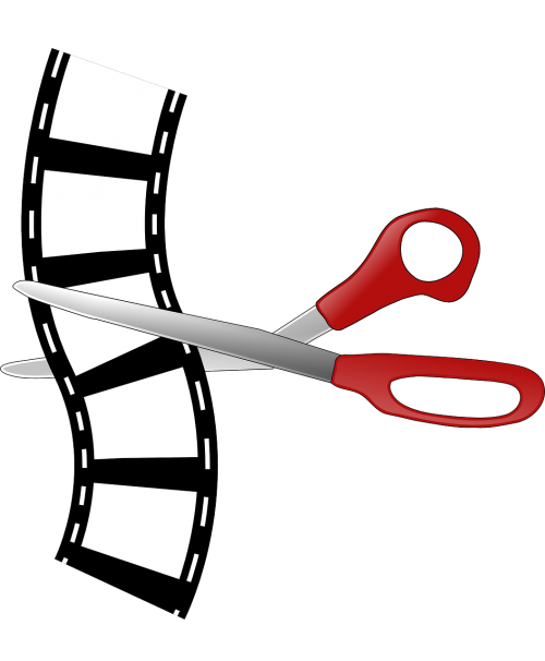 cutting editing filmstrip