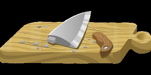 cutting board knife broke