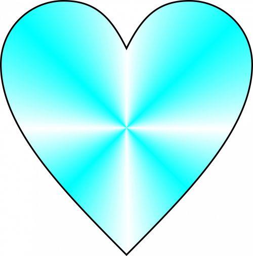 Cyan Heart