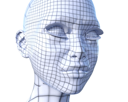 cyber virtual reality head