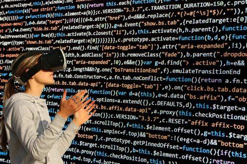 cyber glasses virtual virtual world
