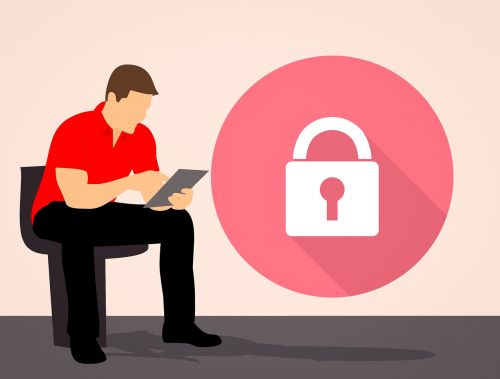 cyber security security lock