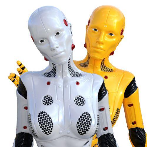 cyborg robot science fiction