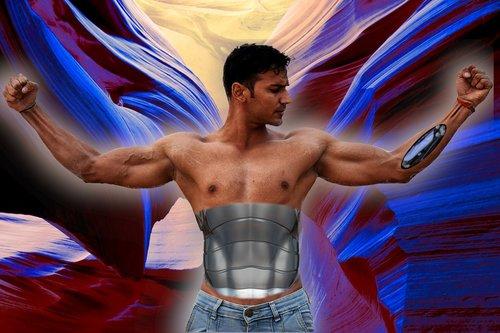 cyborg  man  android