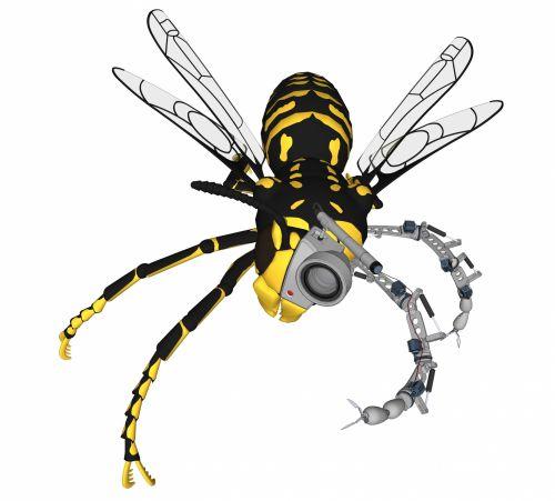 Cyborg Wasp