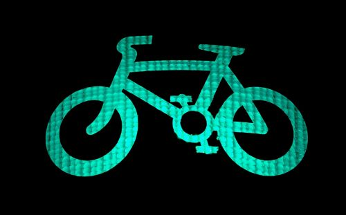 cycle green light