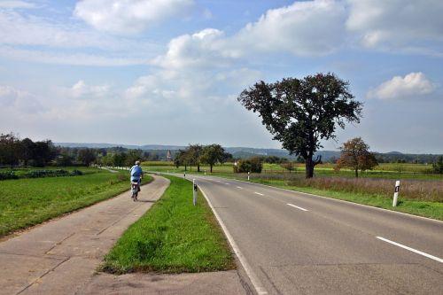 cycle path bicycle path cyclists