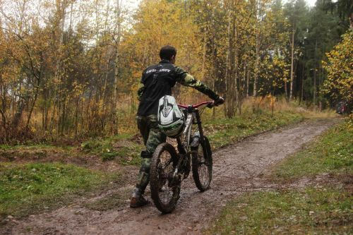 cycling sports autumn