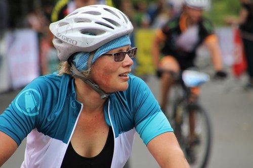 cyclist  cycling  helmet