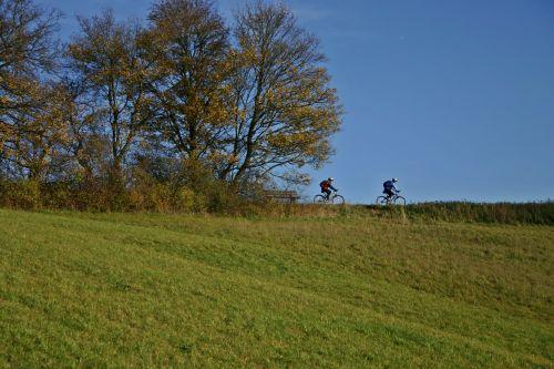 cyclists bike ride cycling