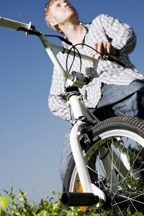 cyclists biker bmx