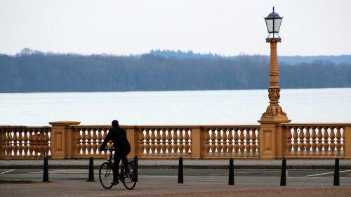 cyclists promenade cycling