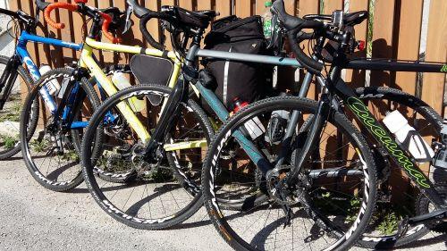 cyclocross bike ride alpine