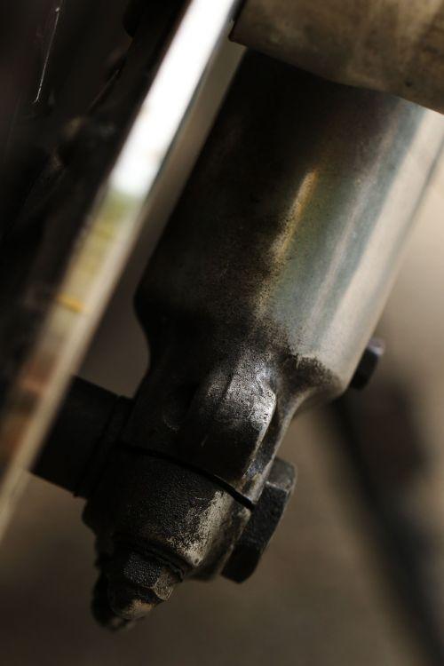 cylinder motor bike detail