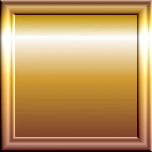 Cylinder Gold Frame