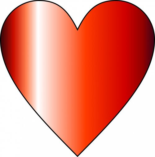 Cylinder Red Heart