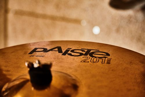 cymbal paiste drums