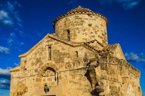 cyprus vrysoules ayios georgios acheritou church