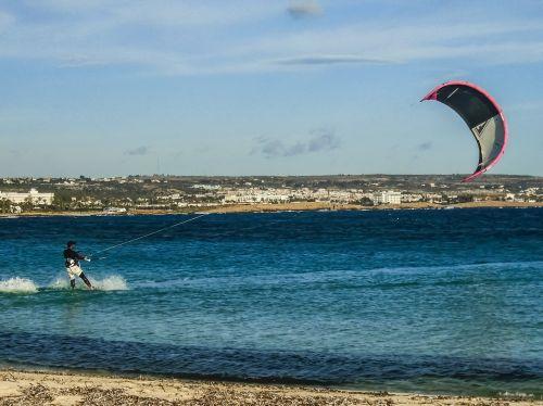 cyprus ayia napa kitesurfing