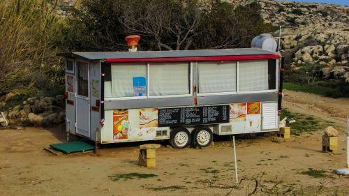 street food caravan cyprus