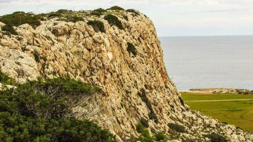 Kipras,cavo greko,Rokas,kraštovaizdis