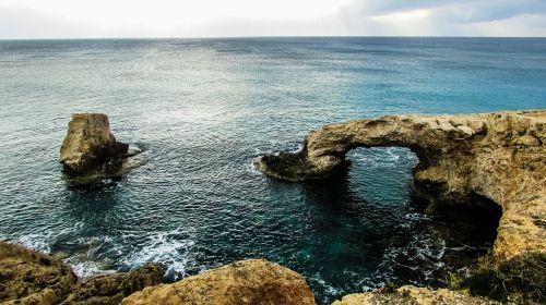 cyprus ayia napa natural arch