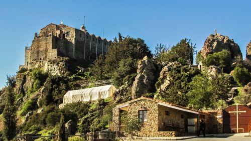 cyprus stavrovouni monastery