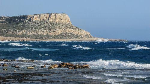 cyprus cavo greko rocks