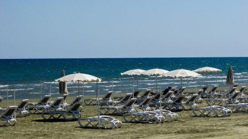 cyprus larnaca town beach