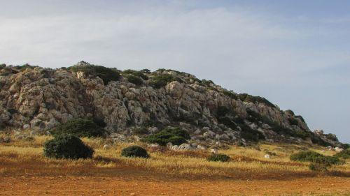 Kipras,cavo greko,Nacionalinis parkas,kraštovaizdis