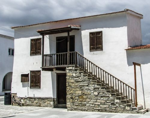 cyprus kiti old house