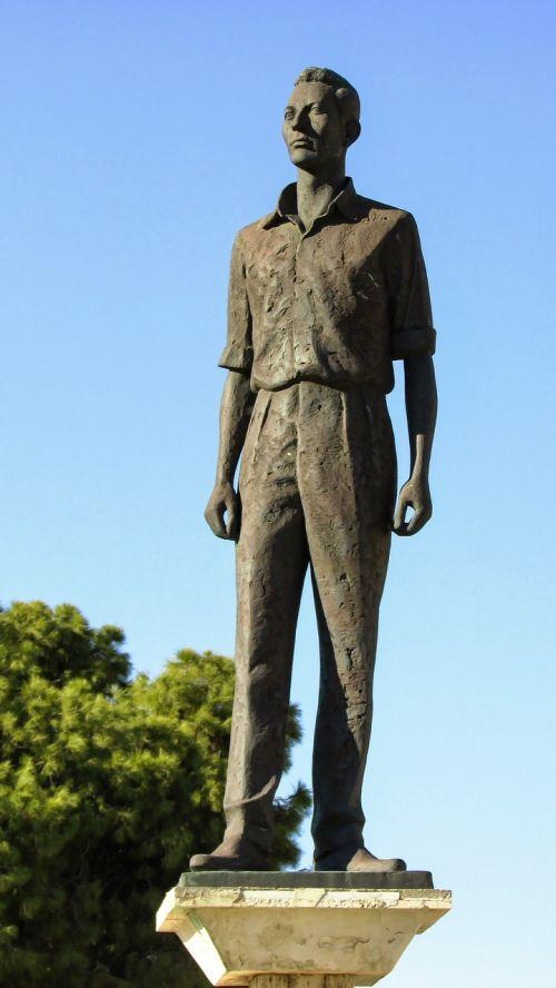 cyprus larnaca statue