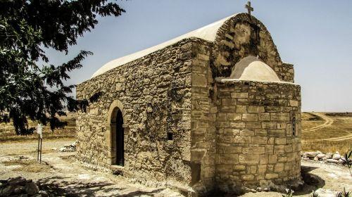 Kipras,tersefanou,bažnyčia,akmuo pastatytas,architektūra,ortodoksas,religija