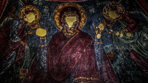 cyprus ayios sozomenos iconography