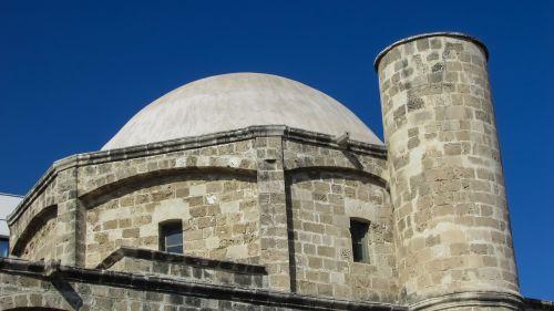 Kipras,larnaka,Senamiestis,pastatas,architektūra,ottoman