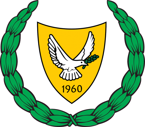 cyprus coat of arms ensign