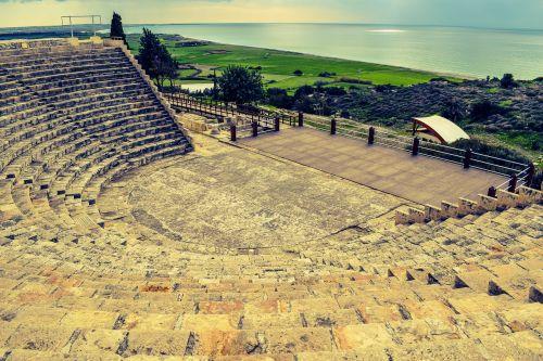 cyprus kourion ancient theatre