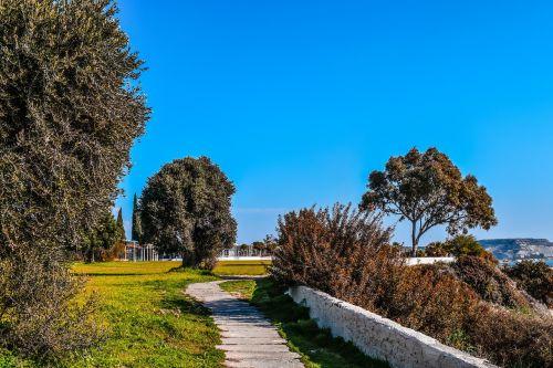 cyprus governor's beach coastal path
