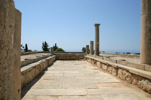 cyprus architecture ruins