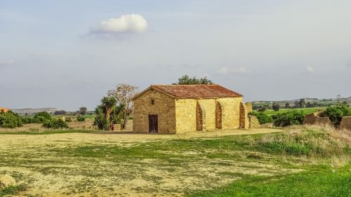 cyprus ayios sozomenos landscape