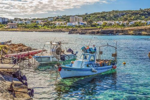 cyprus protaras fishing shelter