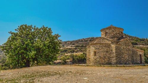 cyprus  kato lefkara  archangel michael
