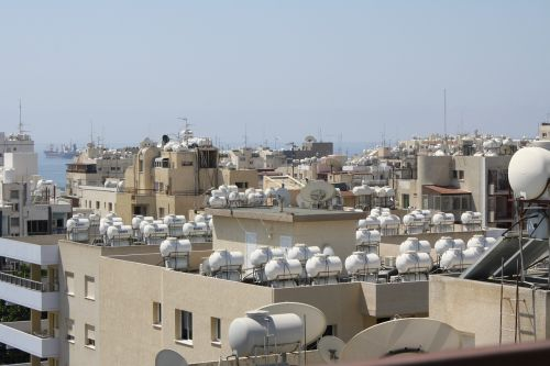 cyprus water tanks the roof of the