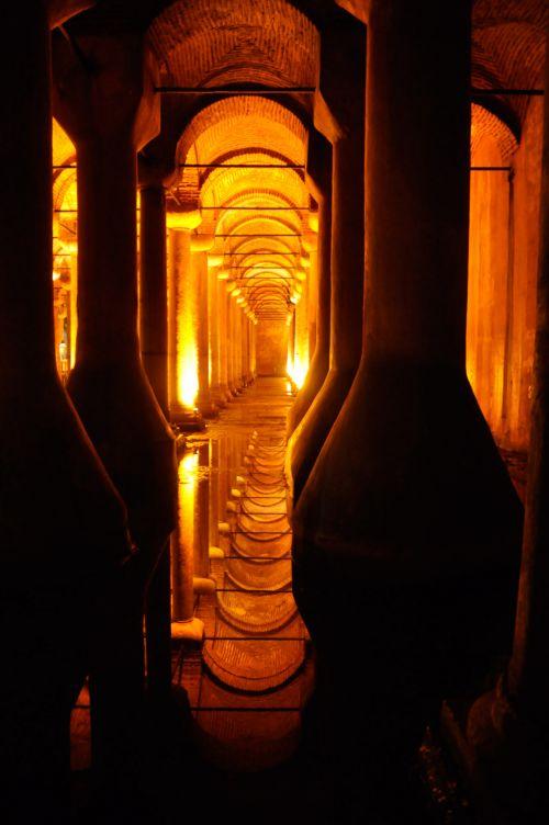 Cistern In Istanbul