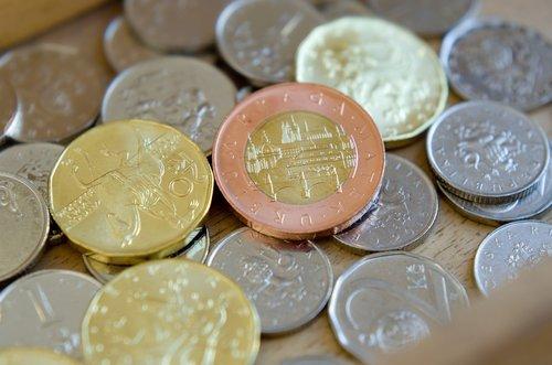 czech coins  coins  crown