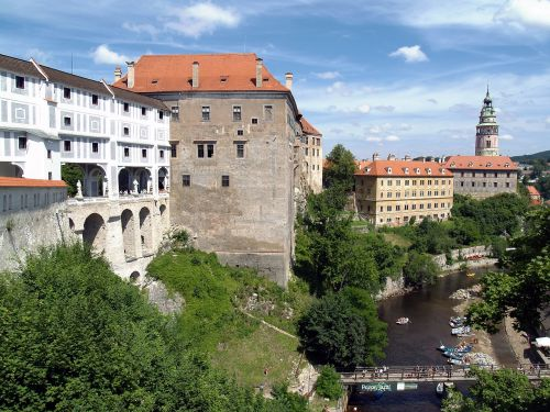 czech krumlov castle unesco