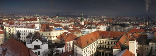 czech republic city panorama