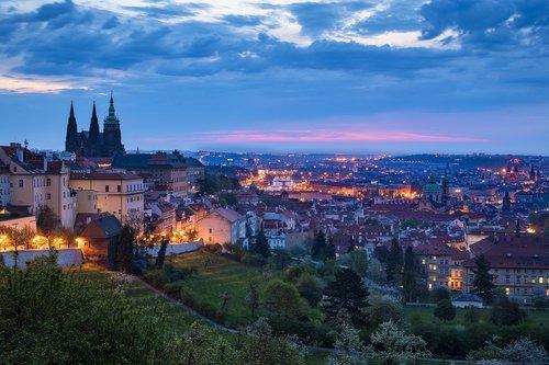 czech republic  prague  prague castle